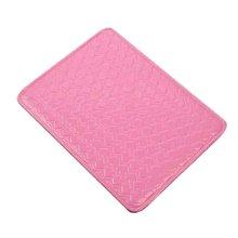Nail Art Pad Soft Hand Cushion PU Leather Armrest Pillow Salon Hand Holder [C]