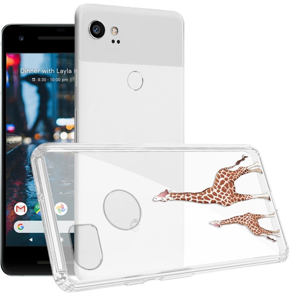 newest 76b49 65c93 Google Pixel 2 XL Case, Topnow [Anti-Scratch PC + Shockproof Anti-Drop Soft  TPU] Advanced Printing Pattern Phone Cases Glossy Drawing Design Cover...