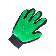 Pet Grooming Glove Gentle Deshedding Brush Glove Five Finger Design Glove