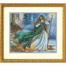 D35173 - Dimensions Counted X Stitch - Gold, Woodland Enchantress