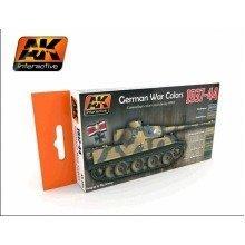 Ak00560 - Ak Interactive Set German Colour Set