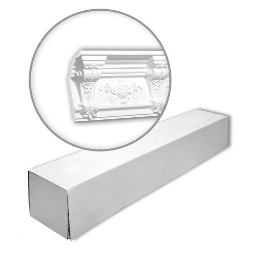 Profhome 150280 Cornice moulding 1 Box 4 pieces | 8 m