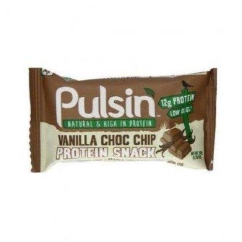 Pulsin - Vanilla Choc Chip Protein Bar 50g (18 pack)