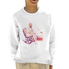 Marilyn Monroe On The Phone 1956 Kid's Sweatshirt