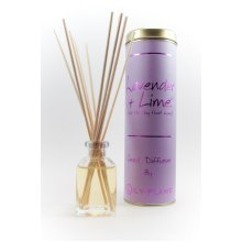 Lily Flame Reed Diffuser - Lavender & Lime