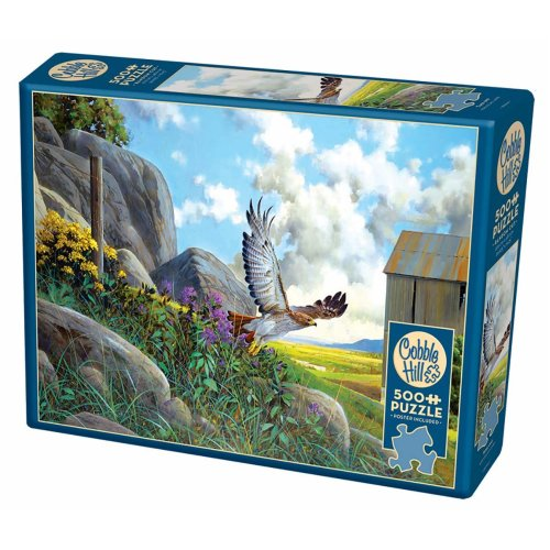 CBL85064 - Cobblehill Puzzles 500 pc - Take Off