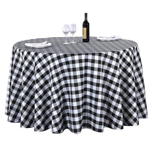 Lattice Tablecloth Cabinet Cover Cloth Hotel/Restaurant Tablecloth 140X180 CM-A6