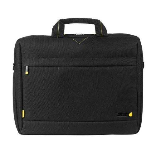Tech Air Toploading Modern Classic Laptop Bag for 15-15.6Inch Laptops - Black