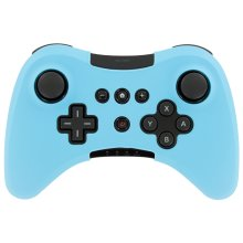 Protective cover for Wii U Nintendo Pro silicone skin ZedLabz – Light blue