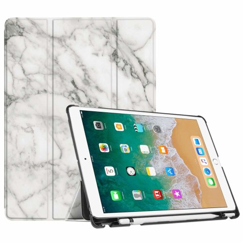 competitive price 9e327 15251 FINTIE iPad Pro 10.5 Case with Apple Pencil Holder - [SlimShell] Ultra  Lightweight Standing Protective Cover with Auto Wake/Sleep Feature for  Apple...