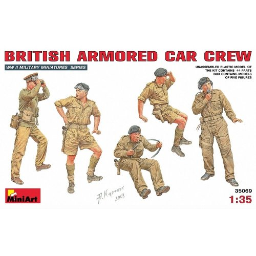 Min35069 - Miniart 1:35 - British Armoured Car Crew