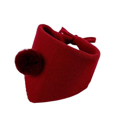 Lovely Warm Winter Scarf Kids Neck Warmer-Red