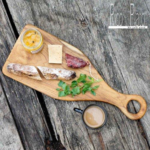 Teak Wooden Chopping Board / Serving Board Epazote