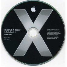 OS X 10.4 Tiger, Full retail install plus Techtool Deluxe