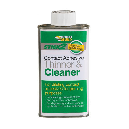 Everbuild Stick 2 Contact Adhesive Thinner And Cleaner Solvent Based 250ml