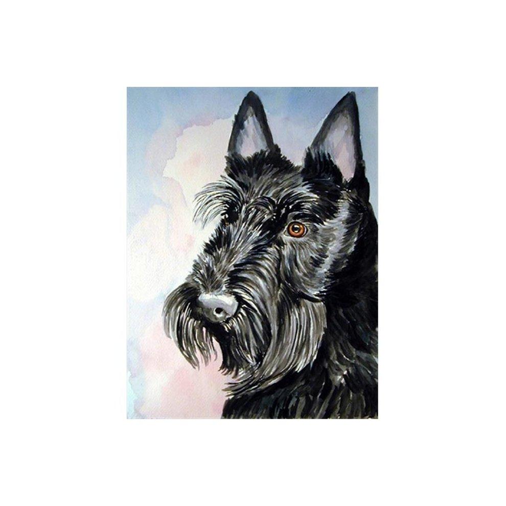 Carolines Treasures 7047CHF Scottish Terrier Flag Canvas House Size