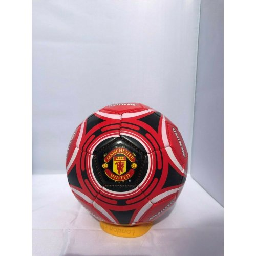 Man United Hy-pro Star Football - Red Size 1 Football