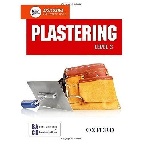 Plastering Level 3 Diploma Student Book (Nvq Construction)