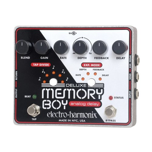 Electro Harmonix Deluxe Memory Boy Effects Pedal With Tap Tempo