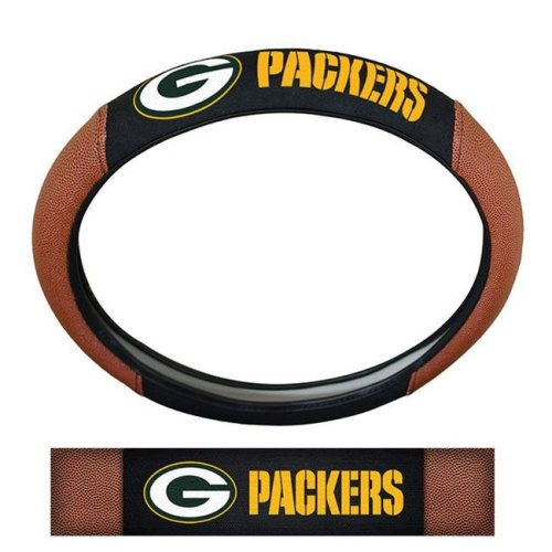 Pro Mark SWCNF12 Green Bay Packers Steering Wheel Cover