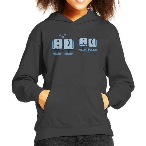 Keyboard Keys Emoji Kid's Hooded Sweatshirt