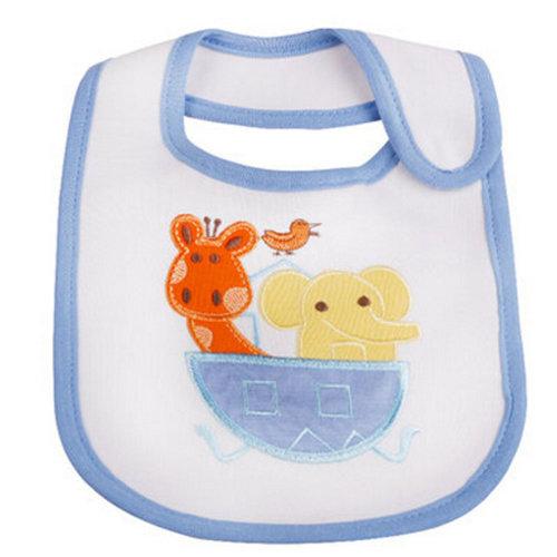 Cute Cartoon Pattern Toddler Baby Waterproof Saliva Towel Baby Bibs?D
