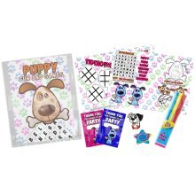 Puppy Paw Print Pre Filled Party Bag - Kids Birthday Parties