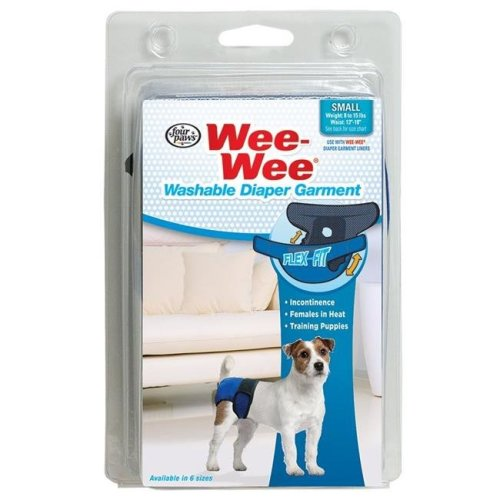 Four Paws 45663972721 Wee-Wee Diaper Garment, Small