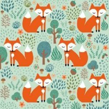 4 x Paper Napkins - Smart Fox - Ideal for Decoupage / Napkin Art
