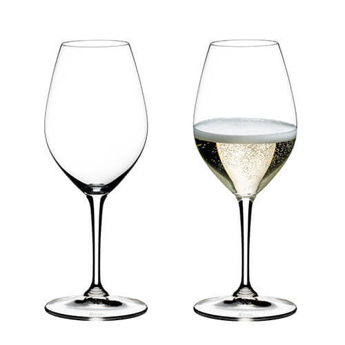 Riedel Vinum Champagne Set Of 2 Glasses