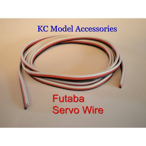Servo Wire Silicone Cable 22awg Futaba-JR 3 Wire Flat x 1 Metre