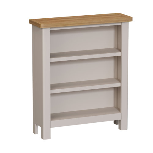 Wittenham Painted Furniture Small Wide Bookcase