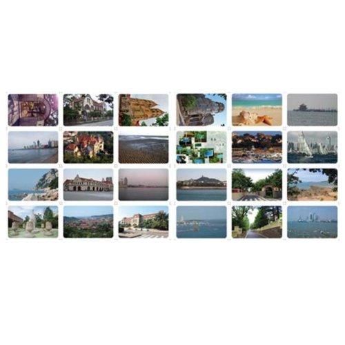 24PCS 1 Set Creative Postcards Artistic Beautiful Postcards, Qingdao impression