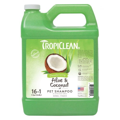 Tropiclean Aloe & Oat Shampoo (3.8lt)