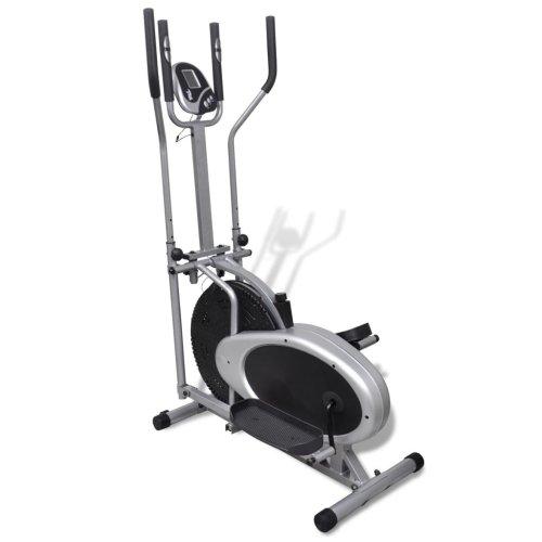vidaXL Orbitrac Elliptical Trainer Exercise Bike 4 Pole Pulse Home Fitness