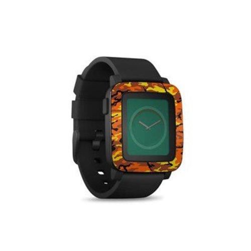 DecalGirl PSWT-OCAMO Pebble Time Smart Watch Skin - Orange Camo