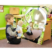Childrens Convex Acrylic Mirror 780mm (72412) - Nursery/School