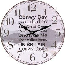 Conwy Bay Theme Wall Clock