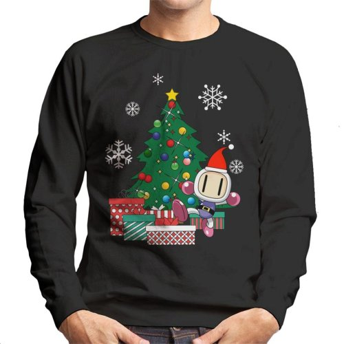 Bomberman Around The Christmas Tree Men's Sweatshirt