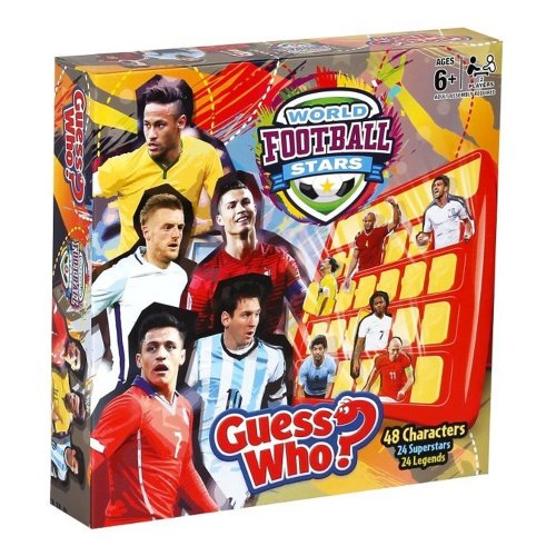 World Football Stars Guess Who Game