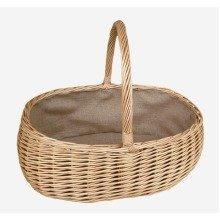 Shopping Basket Large Lined Shopping Basket