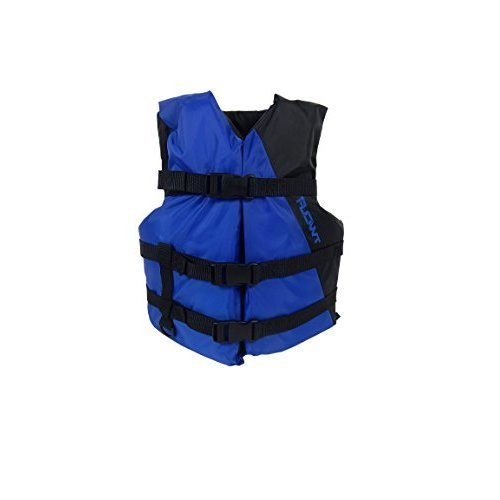 Flowt Multi Purpose 40201 2 YTH Multi Purpose Life Vest Type III PFD fits 50 to 90 lb Blue Youth
