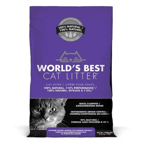 Worlds Best Cat Litter Lavender 6.35kg