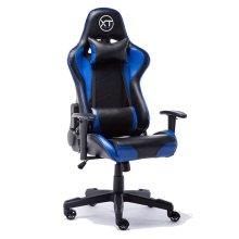 ESports Black & Blue Gaming Chair | Black & Blue Racing Chair