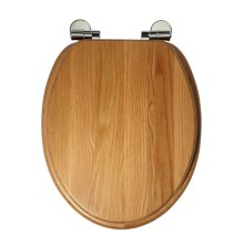 Roper Rhodes Solid Oak Wood Toilet Seat | Soft-Close Toilet Seat