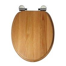 Roper Rhodes Solid Oak Toilet Seat | Soft-Close Toilet Seat