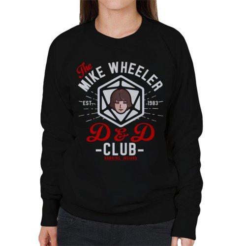 Stranger Things Mike Wheelers D And D Club Women's Sweatshirt
