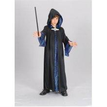 Medium Black Children's Wizard Robe -  wizard robe fancy dress costume boys book outfit kids halloween week