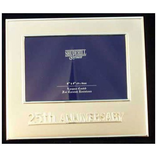 Celebration 25th Anniversary Frame by Shudehill giftware