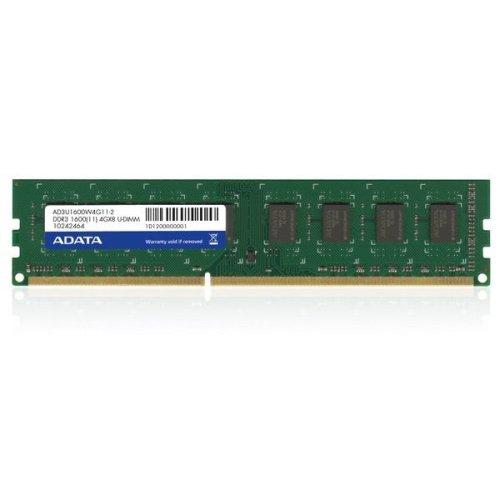 ADATA 8GB DDR3 U-DIMM 8GB DDR3 1600MHz memory module